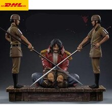 "14 ""Cartoon Standbeeld Angewomon Vs Yagami Hikari Buste Originele Versie Volledige Lengte Portret Led Gk Action Model Speelgoed doos 37Cm A95"