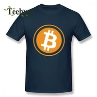 Leisure Bitcoin Tee Man Casual Streetwear For Male Pure Cotton T Shirt