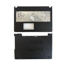 Nowa pokrywa laptopa do Dell Inspiron 15 3567 3565 wielkie litery podpórce pod nadgarstki górna pokrywa/dolna część obudowy 04F55W 0X3VRG