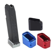 free shipping tactical mag extension base pad glock 1923 45 with 10 spring hunting pistol holster base pad