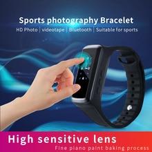 Mini cámara inteligente 1080P, podómetro, pulsera inteligente, cámara secreta, grabación de vídeo de voz, pulsera, reloj, cámara