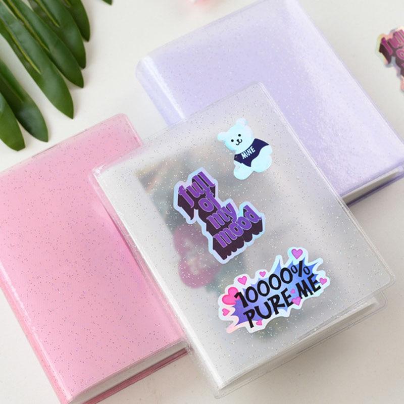Jelly-álbum de fotos de Color para Mini tarjeta, álbum adhesivo para fotos,...