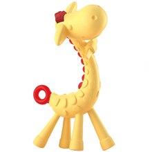 Anneau de dentition en Silicone pour bébé   Brosse à dents bébé girafe, bâtonnet de dentition, sucette banane, soins pour bébé, anneau de dentition, tige de Molar