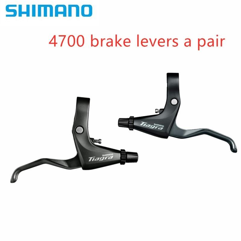 Original Shimano BL R3000 22,2mm Flache Bar TIAGRA BL 4700 Rennrad Fahrrad Bremshebel-Schwarz Links & rechts