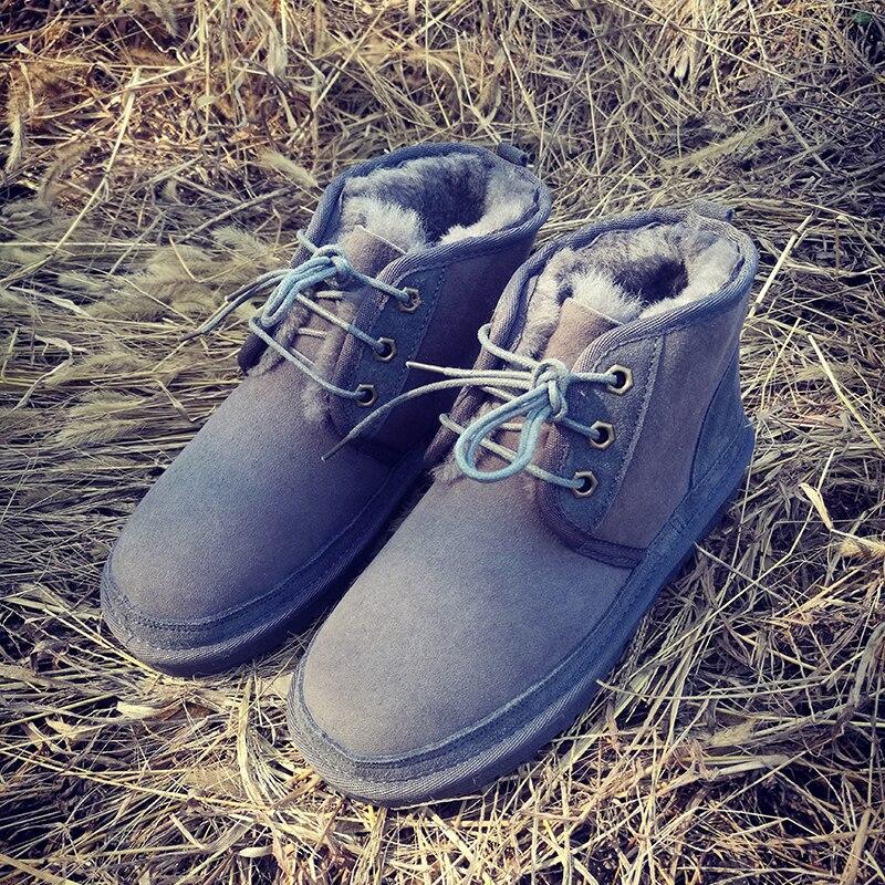 Zapatos de mujer y hombre botas de nieve invierno diseñador australiano piel de oveja una piel de oveja para mantener el calor en las parejas de invierno con dinero