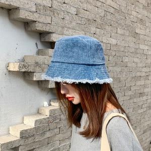 Women Hat Denim Bucket Hats Fishing Hats for Women Fashion Fisherman Hat Wide Brim Hat Designer Hat Sun Hat Hip Hop Large Caps