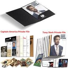 Реквизит для косплея «Мстители: Endgame», «Железный человек», реквизит для косплея, папка «Thor», «Captain America», «Tony Stark», аксессуары