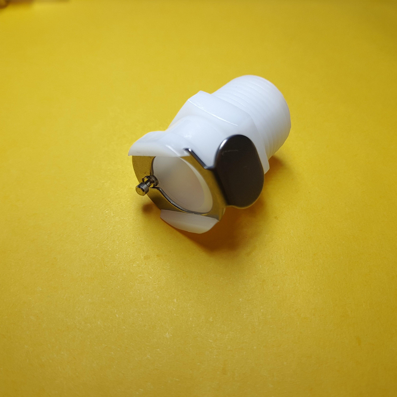 1 шт. 1/8 1/4 3/8 CPC женский быстроразъемный NPT резьбовой пластиковый CPC быстрый соединитель с клапаном