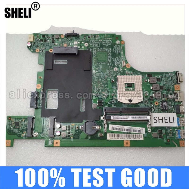 SHELI لينوفو B590 اللوحة S989 SLJ8C HM77 90001841 11S90001841