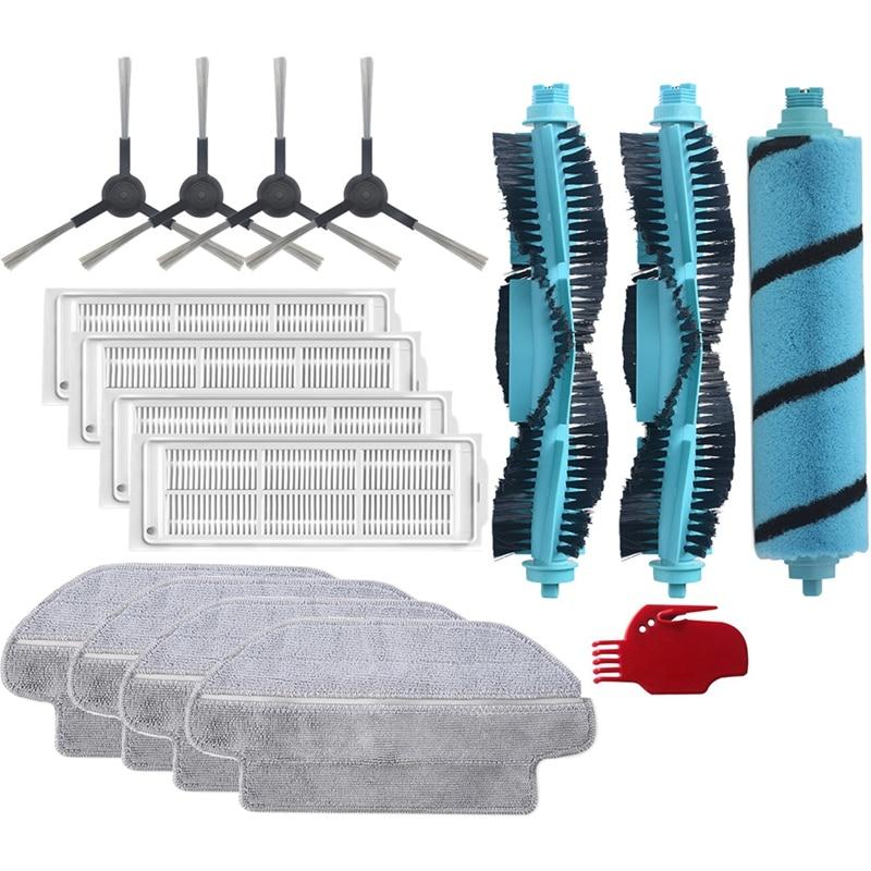 فرشاة تنظيف القماش الرئيسية قابل للغسل تصفية الجانب فرشاة ل شاومي فيومي SE V2 V2PRO V-RVCLM21B V3 روبوت مكنسة كهربائية