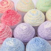 8pcs soft milk cotton yarn for baby hand knitting crochet yarn for diy sweater sock scarf hat