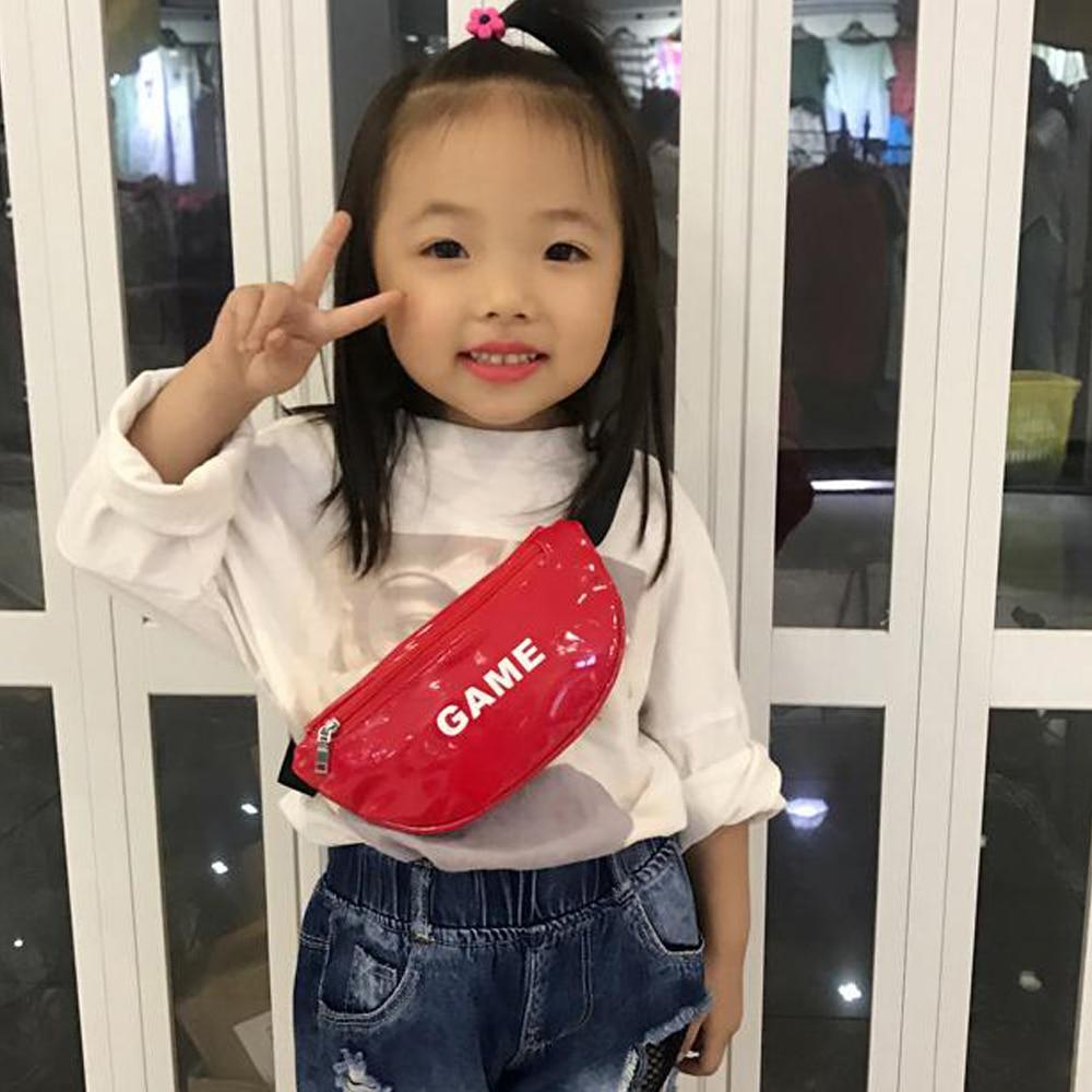 4 cores mais recentes chegadas da criança do bebê meninas crianças cintura saco pacote esportes ao ar livre bolsa cinto peito quadril crossbody bolsa de viagem