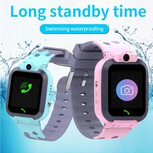 Q16 1.44 inch Children's Phone Watch Waterproof GPS Locator Photo Phone Call Kids Safety 2G Touch Co
