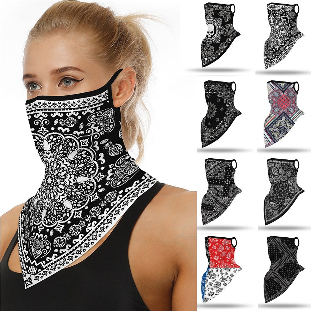 Mask Scarf Mascarilla Outdoor Ski Windproof Seamless Face Cover Sports Scarf Neck Hiking Scarves Tube Mask