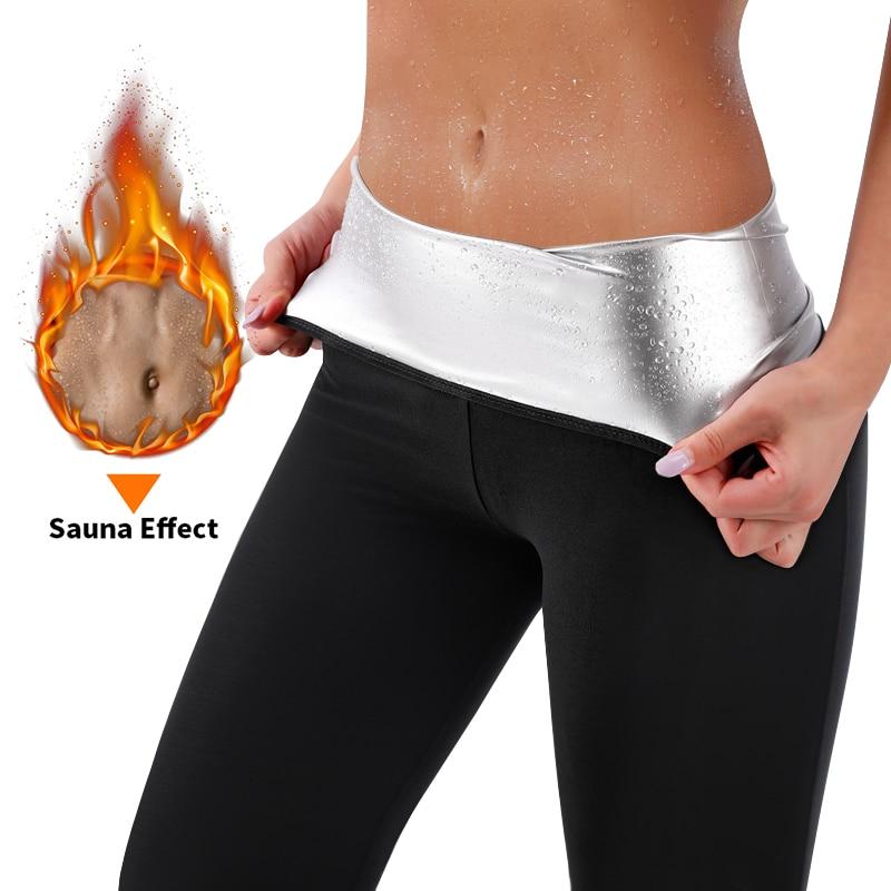 Waist Trainers Sweat Sauna Pants Body Shaper Slimming Pants Women Waist Trainer Corset Sweat Legging
