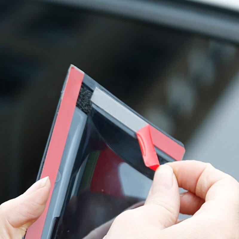 フォルクスワーゲンジェッタ windows バイザー修理された 04to19 ステンレス鋼雨シールドガラス雨ギア車の窓雨の眉毛