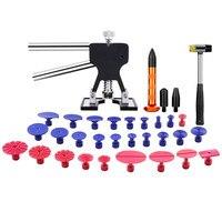Paintless Dent Repair Tool Dent Removal Kit DIY Dent Removal Tool Puller Kit for Car Hail Damage Repair Automobile
