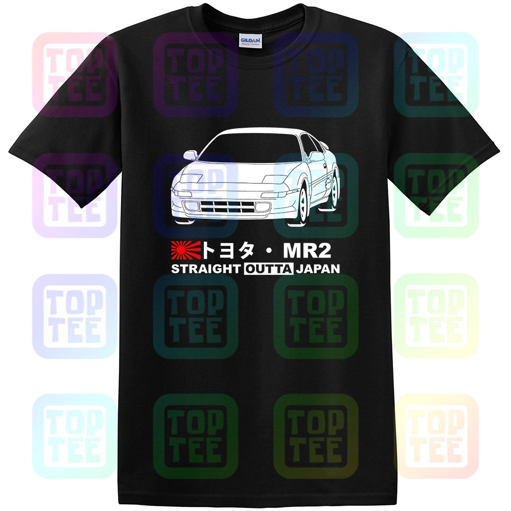 GT-camisa Toyota MR2 SW20 Camiseta tee