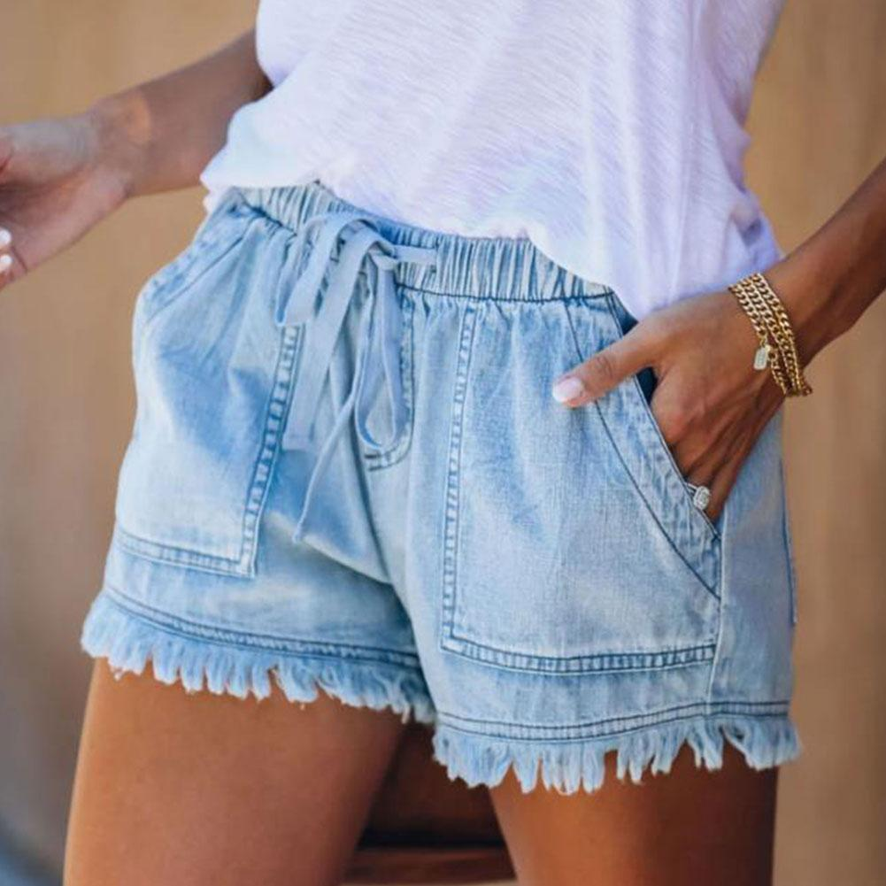 High Waisted Shorts Jeans Plus Size Summer Women's Shorts Short Pants Women For Women Size Denim Size Plus Xxl Women Sexy Jeans