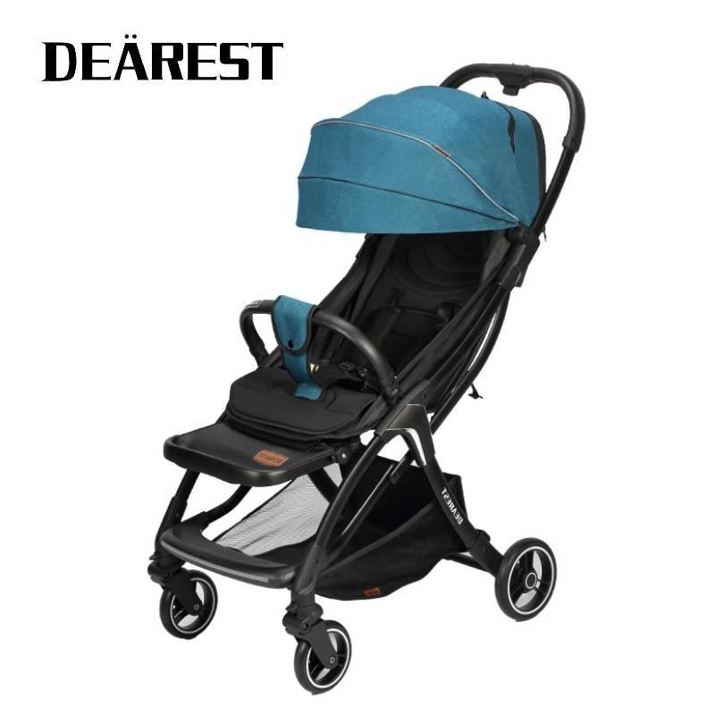 DEAREST A8L Baby Stroller Lightweight Travel Pushchair Plane Pram 5.5kg