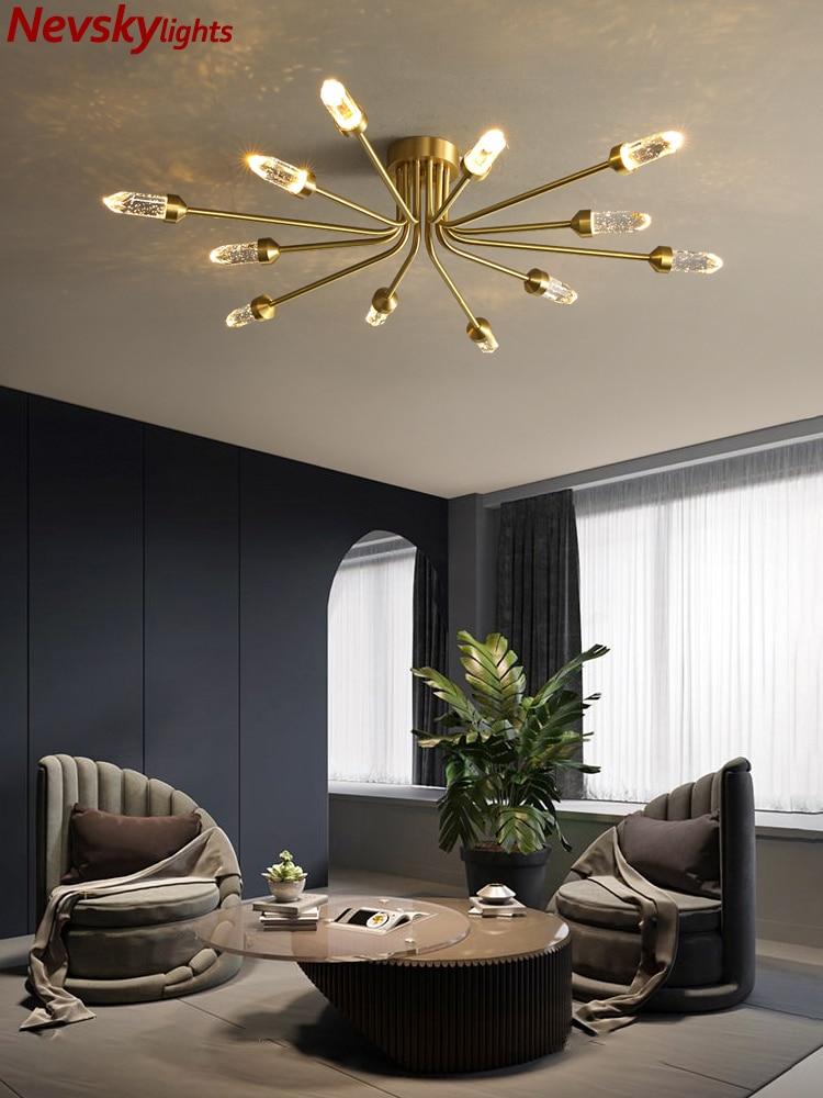 Moderno lustre de cristal sala estar eeiling lustre jantar teto lâmpadas quarto lustre cristal iluminação da cozinha
