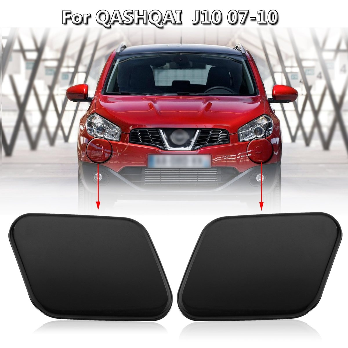 Автомойка для передних и правых фар, Форсунка для Nissan Qashqai J10 2007-2010