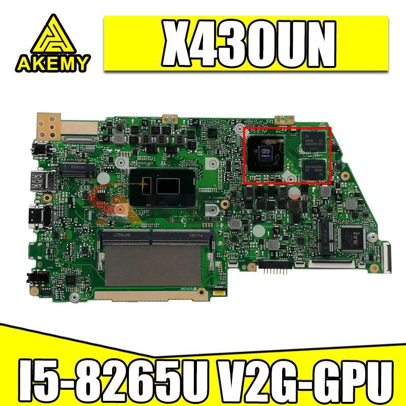 X430UN اللوحة ل asus VivoBook S14 S430 S430u X430u A430U S4300U X430UA X430UN Laptop Mainboard I5-8265U 8G RAM V2G-GPU