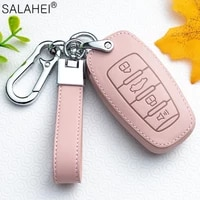 leather car key cover case keychain ring protection for great wall haval coupe h7 h8 h9 gmw h6 h2 haval h6 h7 h8 h9 h2s stylish