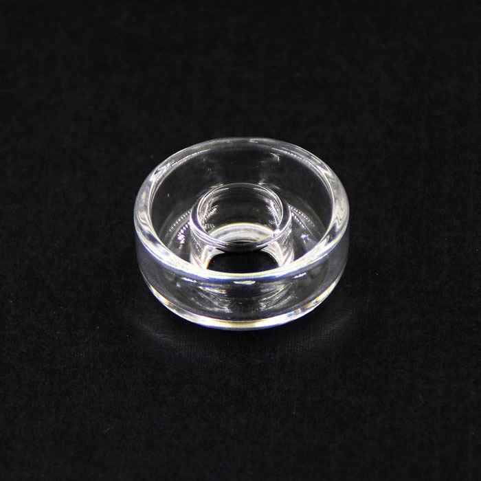 E nail Titanium nails replacement Quartz Dish High quality can stand 1200 temperature Quartz Dishes for Oil Rig pipe enlarge