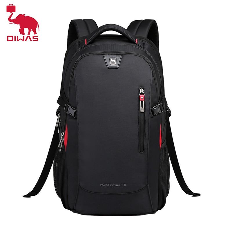OIWAS School Bags 14 inch Laptop Backpacks Waterproof Nylon 29L Casual Shoulder Bagpack Travel Teenage Men's Backpack mochila 17 inch laptop backpack casual shoulders bag for teenage men backpack school bags waterproof backpack travel suitcase 17 3 inch