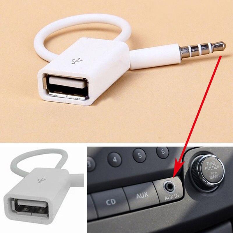 Câble de convertisseur AUX de voiture pour Skoda Octavia 2 A7 A5 A4 Vrs Fabia Rapid Yeti superbe