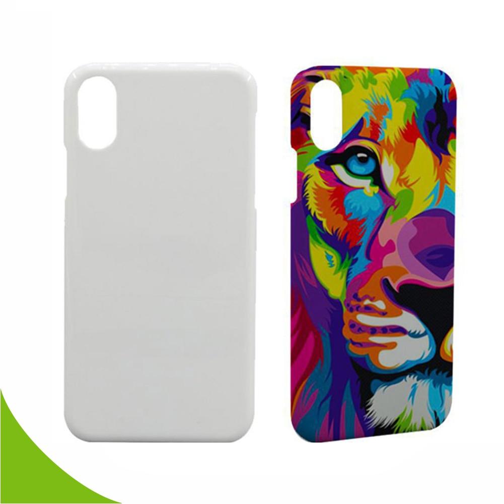 Envío Gratis 20 unids/lote 3D sublimación en blanco mate teléfono carcasa para iPhone 6 7 8 X Plus XS XR DIY impresión de la prensa de calor cubierta