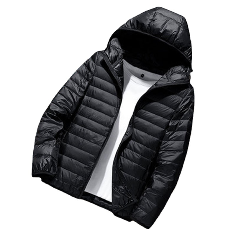 New Ultra Light 90% White Duck Down Jackets Man Male Windproof Warm Parka Men Casual Winter Coat for