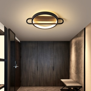 Modern LED Aisle Lights Indoor Home Stairs Corridor Foyer Balcony Lighting Creative Fixture Triangle Round Square Ceiling Lamp