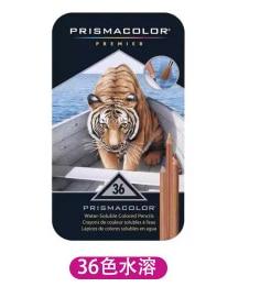 Prismacolor-مجموعة أقلام ملونة زيتية sanford 24 ، 36 ، 48 ، 72 ، 150 ، للرسم الفني