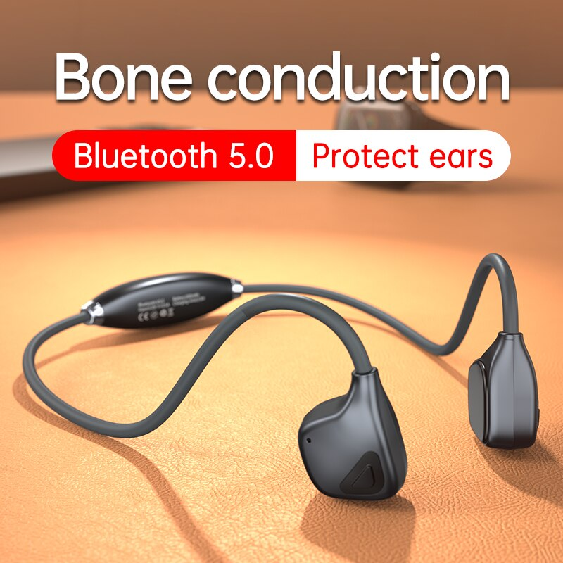 Fones de Ouvido sem Fio Fone para Xiaomi hd com Microfone à Prova Condução Óssea Bluetooth Esportes Chamada Dwaterproof Água Huawei Ddj