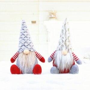 2020 New Year Gift Christmas Decorations Santa Claus doll faceless doll decoration gift Christmas doll For Home Xmas