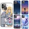 Uw Liggen In April Telefoon Case Voor Iphone 11 Pro Max X Xr Xs Max 6S 8 7 Plus 5S Se 2020 Back Cover