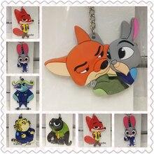 Disney Zootopia mode Anime jouet figurines porte-clés dessin animé porte-clés anniversaire unisexe cadeaux nouveau