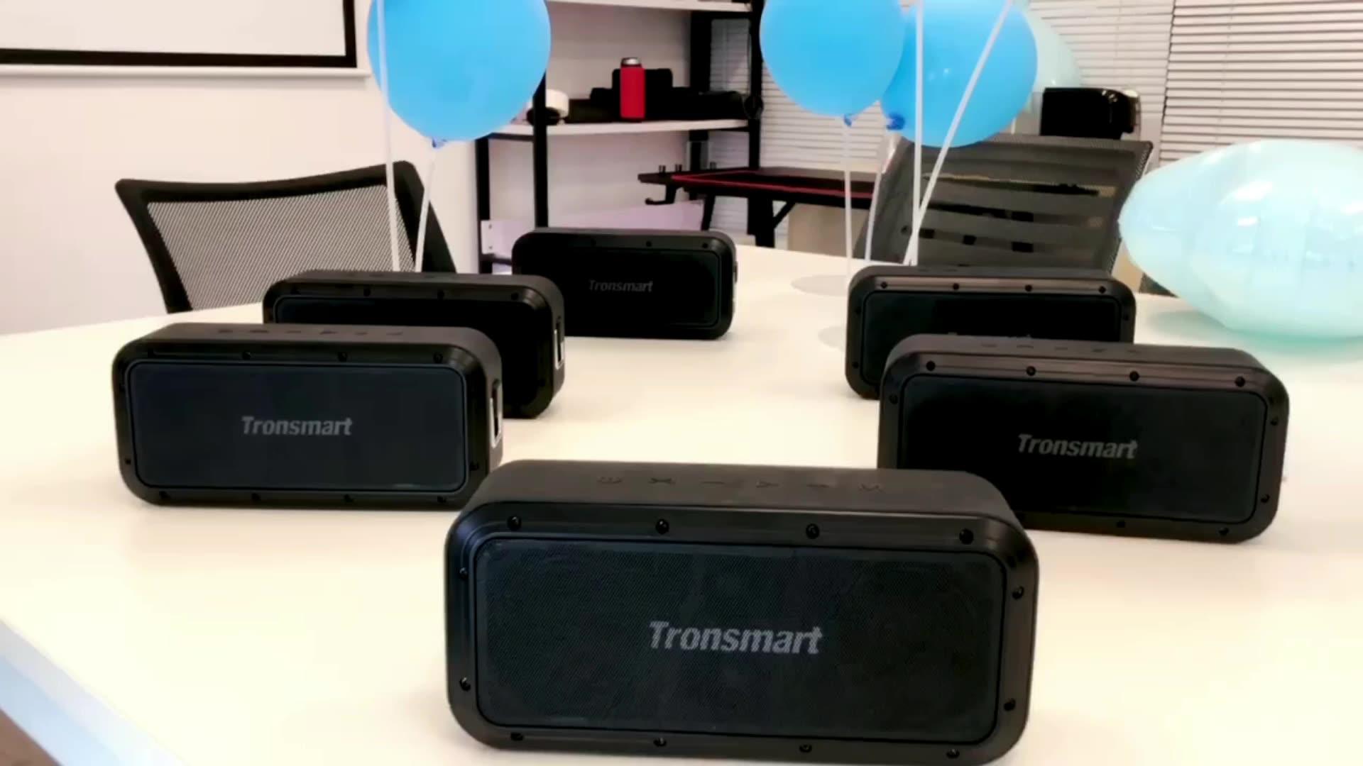 Tronsmart Force Pro 60 واط BT 5.0 مكبر الصوت SoundPulse IPX7 مساعد الصوت NFC صحيح مكبرات صوت ستيريو لاسلكية للسفر في الهواء الطلق