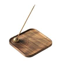 Large Portable Wood Incense Burner Wooden Charcoal Stick House Home Smell Rattan Sticks Incense Burners Smoke Decoration II50XXL