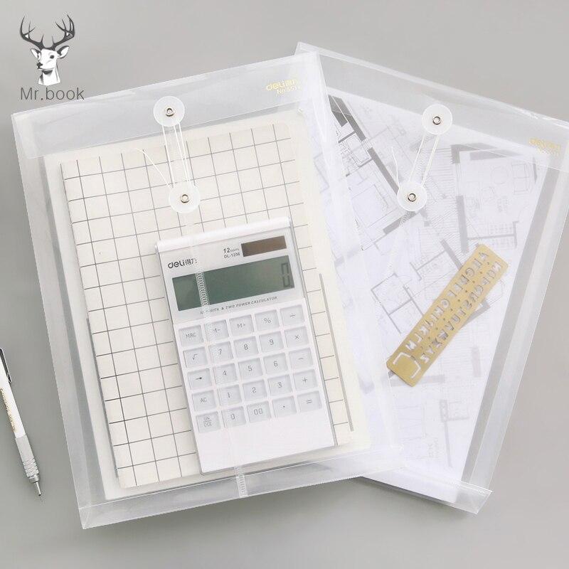 Прозрачная ПП А4 Сумка для документов, водонепроницаемая папка для документов, Сумка для документов, Офисная бумага, органайзер, чехол для о...