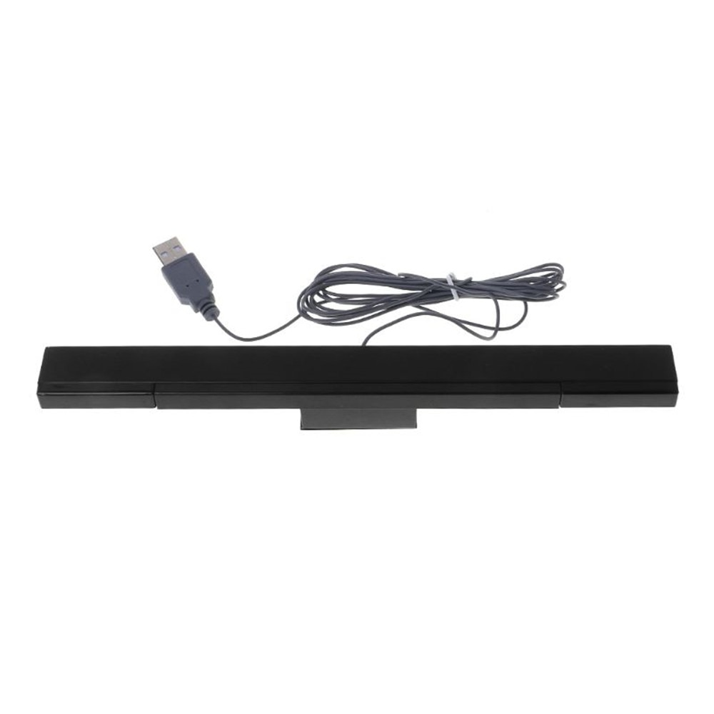 300pcs Sensor Bar Wired Receivers IR Signal Ray USB Plug Replacement for Nitend W ii Remote
