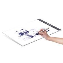 A4 초박형 휴대용 LED 라이트 박스 드로잉 트레이서 테이블 페인팅 트레이싱 패드 복사 보드 패널 무단 디밍 가능 밝기