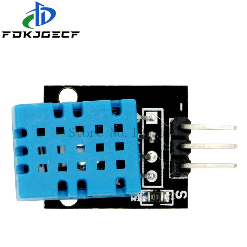 Smart 3pin KY-015 DHT-11 DHT11 Digital Temperature And Relative Humidity Sensor Module + PCB for Arduino DIY Starter Kit