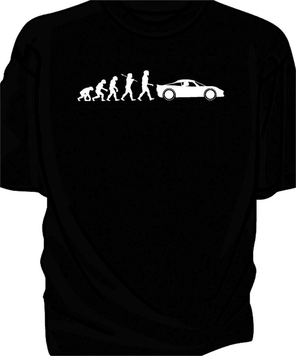 Evolution Of Man Classic Car T-Shirt. Lotus Elise