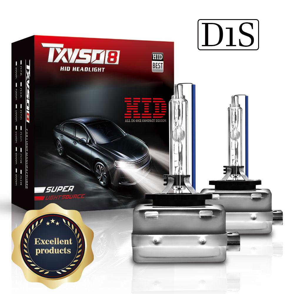 Ксеноновые HID Автомобильные фары TXVSO8, супер яркие фары D1S D2S D3S D4S, 35 Вт/55 Вт, 4300 лм, автомобильные фары 6000k, 8000K, комплект