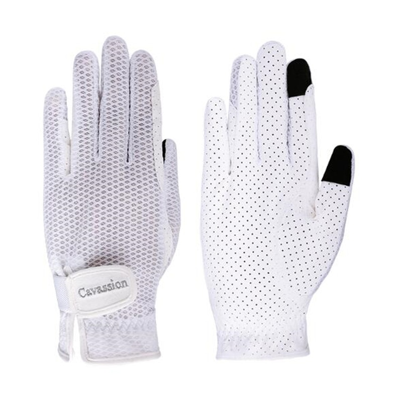 Cavassion Professional Equestrian Equipment Adualt Gloves Horse Riding Protective for Hand When holding REINS