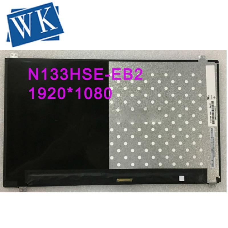 Darmowa wysyłka N133HSE-EB2 Rev. B1 1920X1080 EDP laptopa ekran LCD