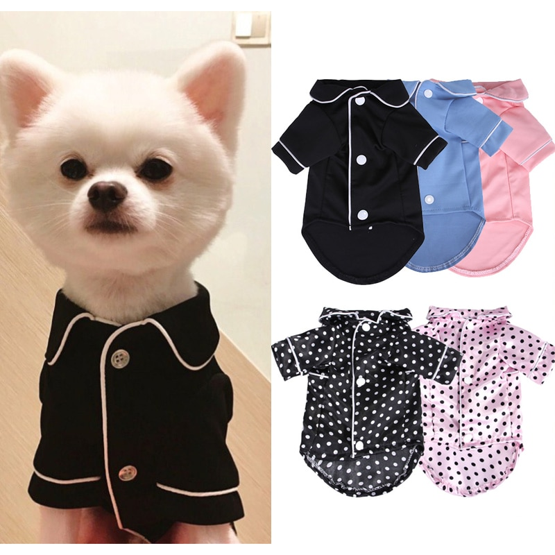 AliExpress - XS-XL Pet Dog Pajamas Winter Dog Jumpsuit Clothes Cat Puppy Shirt Fashion Pet Coat Clothing For Small Dogs French Bulldog Yorkie